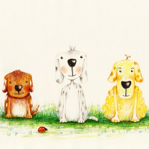 Würfel, Rolf und Flocke